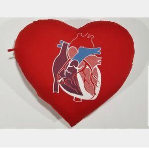 VTG EUC Heart on Heart Shape Nurse Health Pillow